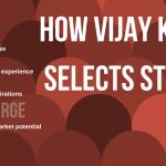 How vijay kedia selects tsocks