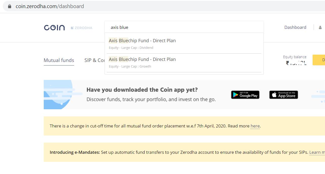 SIP mutual fund