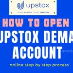 how to open Upstox Demat account online - upstox account opening