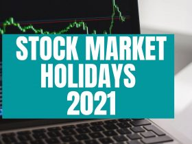 stock market holidays 2021